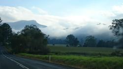 Leaving Kangaroo Valley in the morning