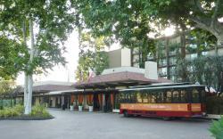 Trolley to Universal Studios/City Walk