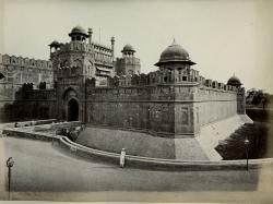 Lahori Gate-Red Fort Delhi-Archives photo