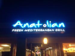 Anatolian Fresh Mediterranean Grill