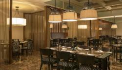 Interior of Baharat Restaurant
