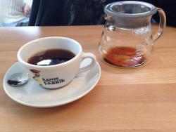 Kaffee-Fabrik