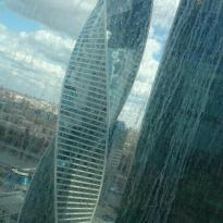 Viewing Platform of Federation Tower Moscow-City