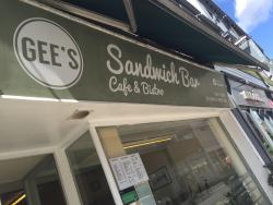 Gee's Sandwich Bar And Bistro
