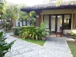 Outside view of room