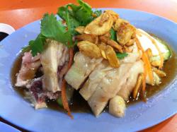 Hainanese Boneless Chicken Rice