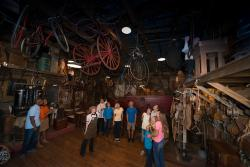 Enjoy a guided tour and hands on exhibits