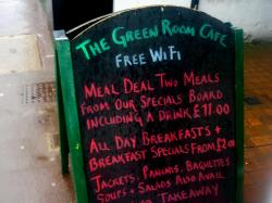 The Green Room Cafe