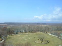 苫小牧市緑ヶ丘公園展望台