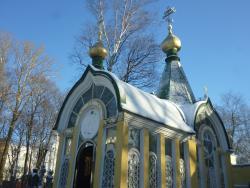 Часовня-усыпальница храма Святого Праведного Иова Многострадального