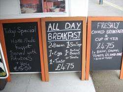 look out for specials