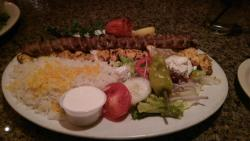 Chicken Barg Sultani at the Persian Room, Scottsdale, AZ