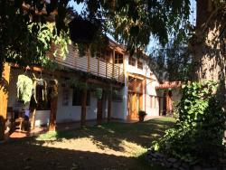 Pátio da Casa Caqchikel