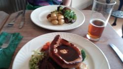 beef roast and the lamb rump