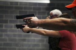 We have many classes, including Intro to Handguns