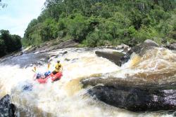 Corredeira do Funilzão Expedição de Rafting de 4 horas