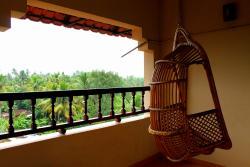 Vista dal balcone della camera deluxe