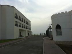 Between buildings - seafront