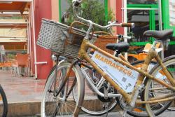 Biking in Marrakech