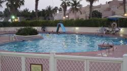 pool at the marina