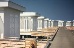 Ocean bungalos