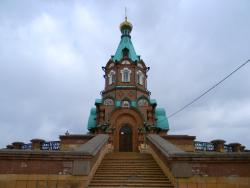 St. Nicholas Church and a Monument for Victims of Political Repression