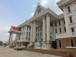 People's Security Museum in Vientiane