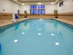 Take a dip in our pool & hot tub!