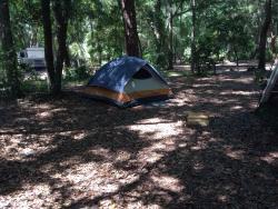 Rustic classic camping