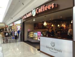 Gloria Jean's Coffees GC kiosk