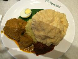 R04 Nasi Rich with Curry