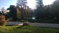 Parque visto desde terrza del hotel