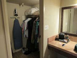 walk-in closet in suite