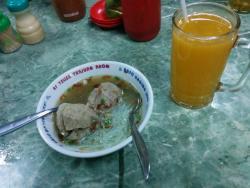 Es Teller Tanjung Anom & Bakso Daging Sapi