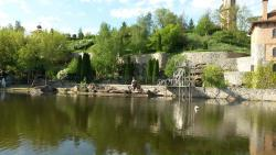 Temple Complex With Landscape Park