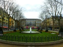 Kiosque a Musique Place Jean Jaures Saint Etienne