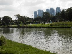Yarkon River and Park Hayarkon