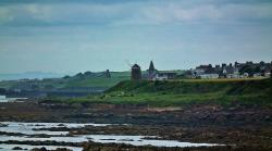 St Monan's Windmill and Salt Pans
