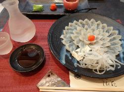 Japanese Cuisine Fugu Kaiseki Tenka