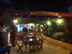 Platanos Taverna Lachania