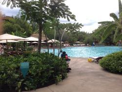 Jambo House Pool Before 2pm