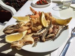 Pescheria il mare di Terracina