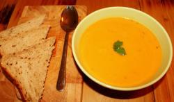 Homemade Sweet Potato Soup