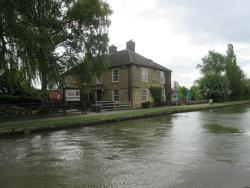 Busy Canalside Pub