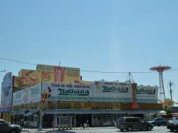 Nathan's Famous - Coney Island Boardwalk
