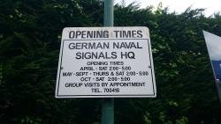 German Naval Signals HQ