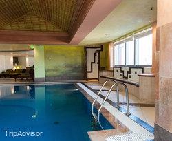 The Pool at the Kempinski Hotel Corvinus Budapest
