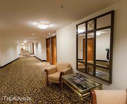 Hallways at the Kempinski Hotel Corvinus Budapest