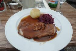 Sauerbraten dish