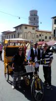 Pedicab Pisa - Roberto - Day Tours